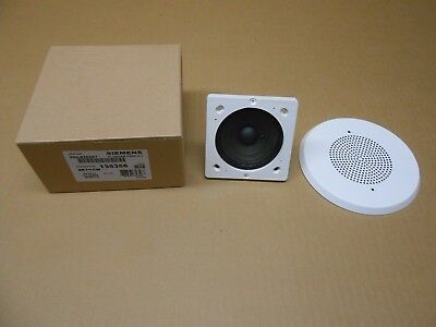 1 Nib Siemens 500-636067 500636067 Ceiling Speaker White Fire Alarm Model Set-cw