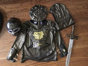 Knight costume for boy's 7-8
