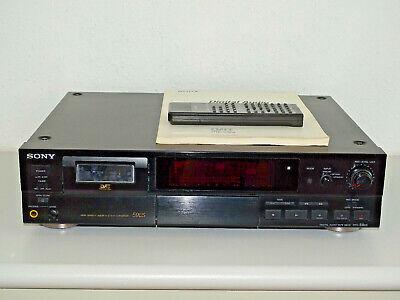 Sony DTC-59ES High-End DAT-Recorder in Schwarz inkl. FB&BDA, 2 Jahre Garantie segunda mano  Embacar hacia Spain