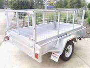 Brand-New-Hot-Dipped-Galvanised-7x5-Box-Trailer-with-Cage Gympie Gympie Area Preview