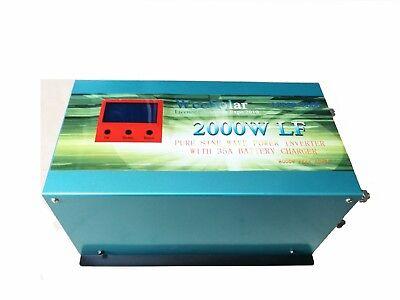 Inversor Onda Pura 12v 2000w Con pico de arranca 8000w + Cargador 35A Inverter comprar usado  Enviando para Brazil