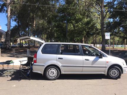 Very Economic Mitsubishi Campervan 6 months rego