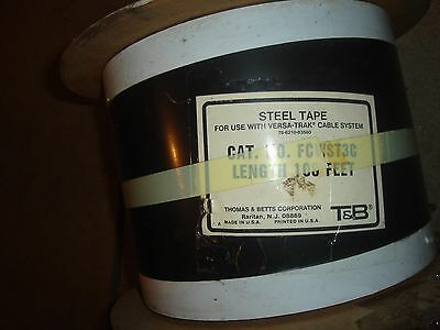 Thomas Betts Versa-trak Power Cable 7 Width 100 Ft Length New Free Shipping
