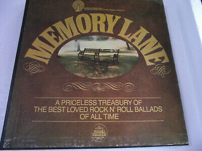 MINT- THE BEST ROCK N ROLL BALLADS OF ALL TIME MEMORY LANE 5LP BOX SET