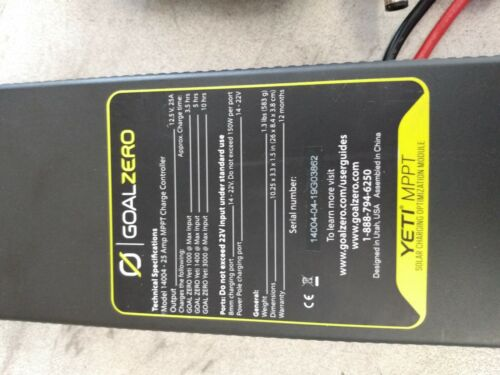 Goal Zero Yeti MPPT Solar Charging Module and 15FT Extension Cable