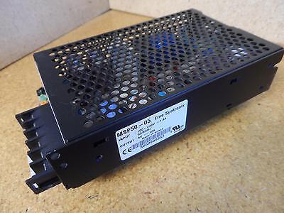 Fine Suntronics Msf50-05 Power Supply 100-240v Input 5v-10a Output