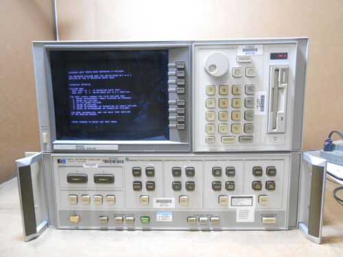 HP 8510C VECTOR NETWORK ANALYZER WITH OPTION 010