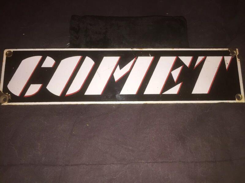 Original COMET porcelain.. Old.