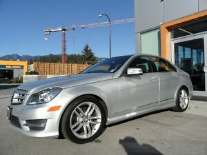 2013 Mercedes-Benz C-Class 300 4MATIC / Premium Package
