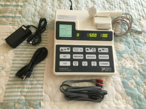 Chattanooga Intelect Legend Combo 2-Chan Ultrasound/Stim, with 1 YEAR CAL CERT!