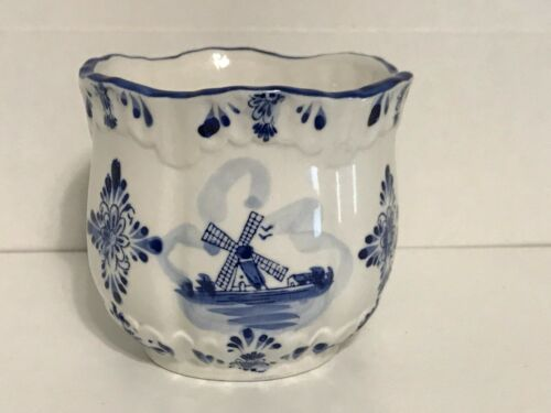 Delft Blue & White Planter