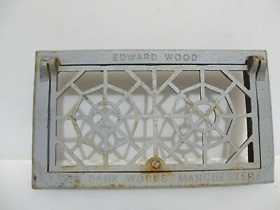 Iron Air Brick Vent Grille Grate Antique STYLE Old 14