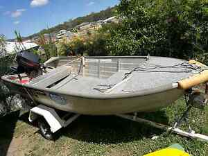 3.8 Stacer with 25 hp evenrude on trailer Coomera Gold Coast North Preview