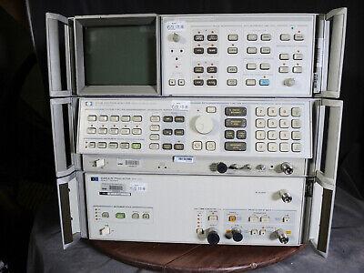 Agilent Hp 85685a Rf Preselector 20hz-2ghz 8566b Spectrum Analyzer W Display