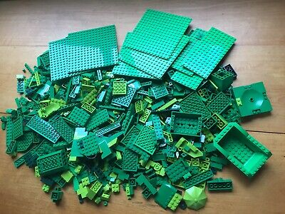 LEGO Bulk Lot Green Bricks 1.270 KG Bricks Blocks Building Pieces Plates