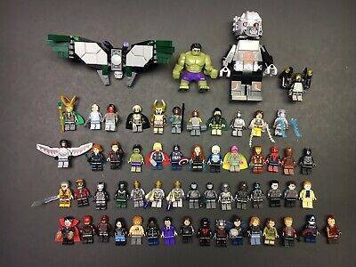 Lego Marvel Avengers Minifigure Lot. Authentic And Custom Minifigures MCU
