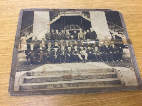 Antique Real Photo CONFEDERATE REUNION (Appears to be Charleston, SC)