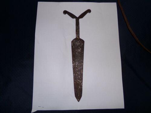 """Athabascan (Dene) Double Volute Dagger 9.25"""""""