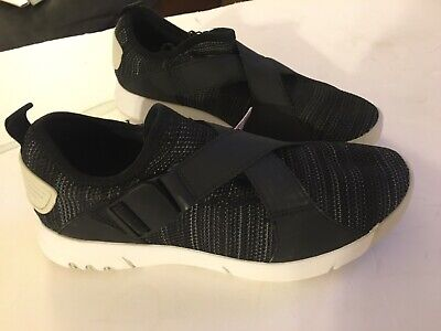 Zara Man Retro Black Sneakers Shoes Size 39 US 6