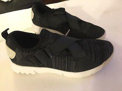 Zara Man Retro Black Sneakers Shoes Size 39 US 6