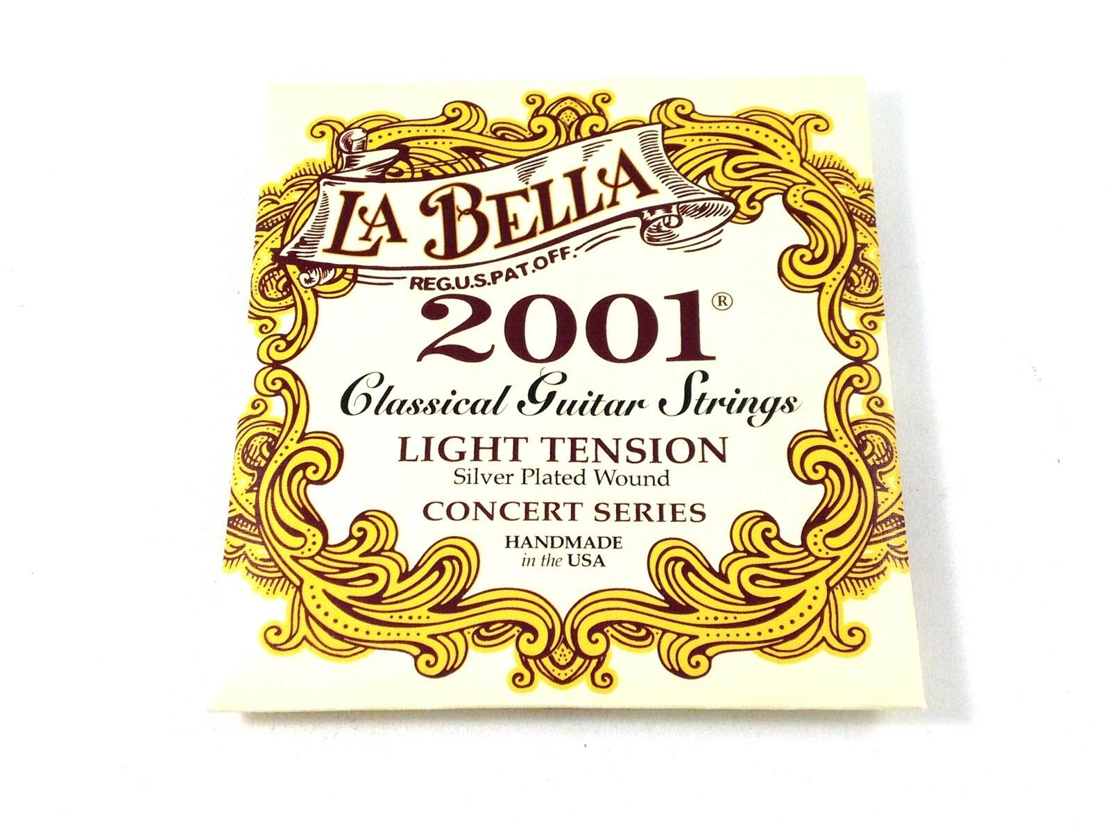 la bella guitar strings light tension silver plated wound classical 2001 ebay. Black Bedroom Furniture Sets. Home Design Ideas