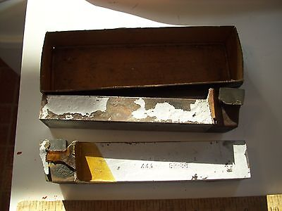 2 Carbaloy Nos Cemented Carbides Cutting Tools Gr-86 44a From Metal Lathe Rusty