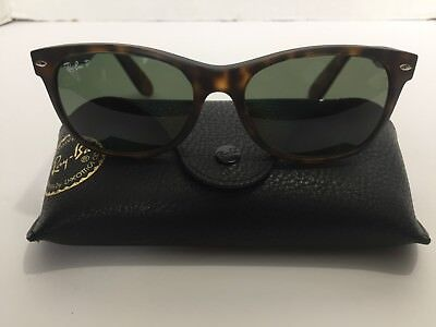 Ray-Ban RB 2132 New Wayfarer Prescription Eye Glasses Signature Black Hard Case