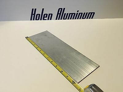 18 X 4 X 12 Length Aluminum Flat Bar 6061-t6