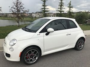 FIAT 500 SPORT COUPE- LOW KMS! $8000 OBO