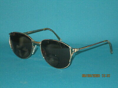 Vintage GUCCI Gold/PRESCRIPTION Women's CAT EYE Eyeglasses Frames 53mm