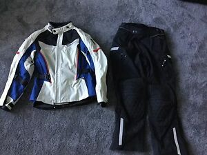 Motorcycle jacket and pants-barely used