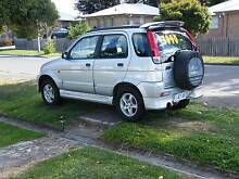 2001 Daihatsu Terios Mowbray Launceston Area Preview