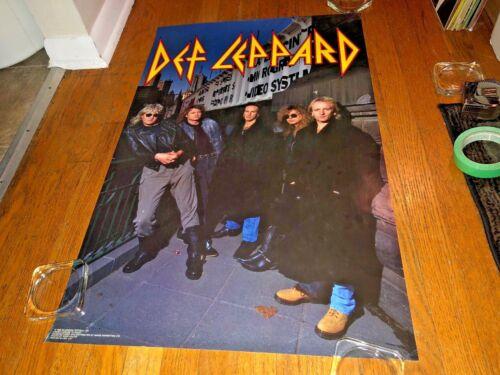 "Def Leppard ""1992 Band/Logo"" Classic Hard Rock-Metal Poster_Joe Elliot"