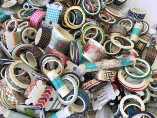 Huge custom washi tape lot for a customer!