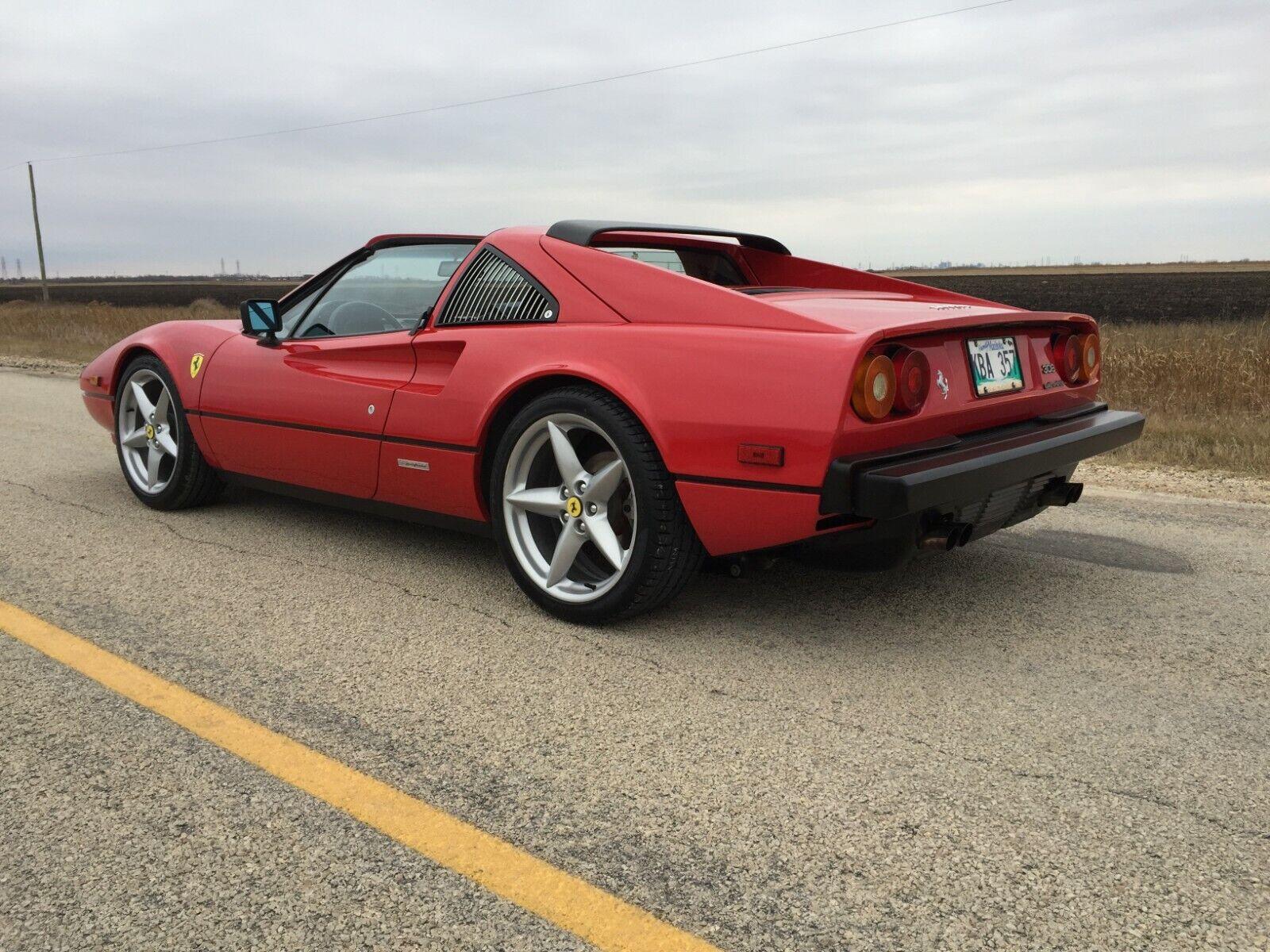 1984 Ferrari 308  1984 FERRARI 308 GTSI QV