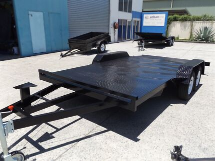 NEW 15FT BEAVER TAIL CAR TRAILER 2000KG WITH NEW TYRES & RIMS Redland Area Preview
