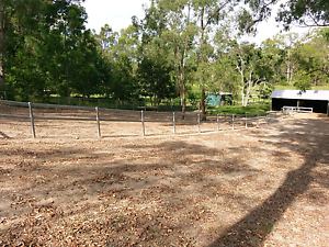Steel Horse fencing (over 100m) and stable Mudgeeraba Gold Coast South Preview