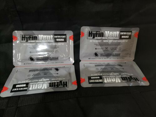 2 NAR HyFin Vented Twin Chest Seal expires 07/2025
