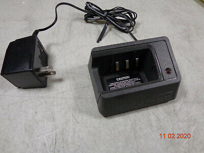 Motorola Mt1000 Vhf 99 Ch Ht600 Mtx800 Mtx810 Portable Radio Charger Ntn4666b
