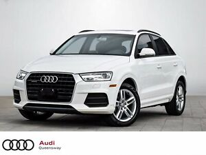 2016 Audi Q3 2.0T Komfort|1 Owner|No Accident|Pano Roof