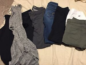 Brand name clothing- H&M, Hollister, American Eagle,TNA
