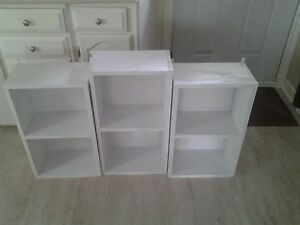 cabinet etagere mural blanc
