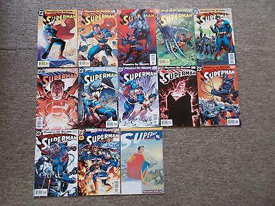 DC COMICS SUPERMAN COMICBOOK LOT