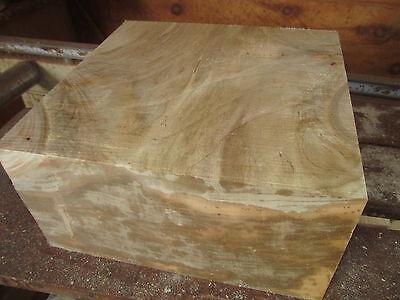 Large Thick Maple Salad Bowl Blank Lumber Lathe Wood Turning 12 X 12 X 5