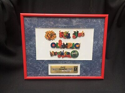 Coca-Cola Red Hot Olympic Summer Collector Pin Set -Summer Olympics Atlanta 1996