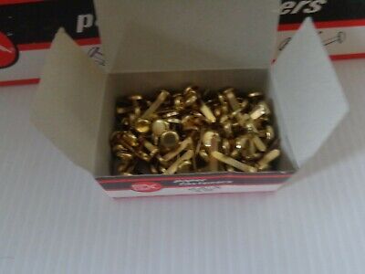 1000 Brass Plated Paper Fasteners 34 Size 3 10 Boxes 100 Fastenersbox