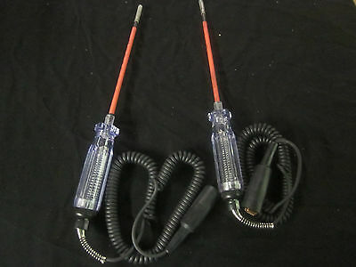 2pc Extra Long 12 Circuit Tester Light Probe 6 12 Volt Systems 12 Wire Truck