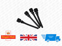 20Pcs Black PC Cooling Fan Anti Vibration Shock Flexible Rubber Mounting Screws