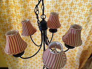 Light fixture with shades