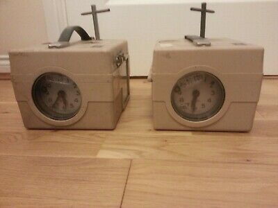 2 BENZING MADE IN GERMANY PIGEON TIMER RACING CLOCKS JOB LOT UNTESTED